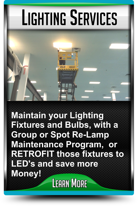 Lighting Maintenance and Lighting Services in Harrisonville Missouri