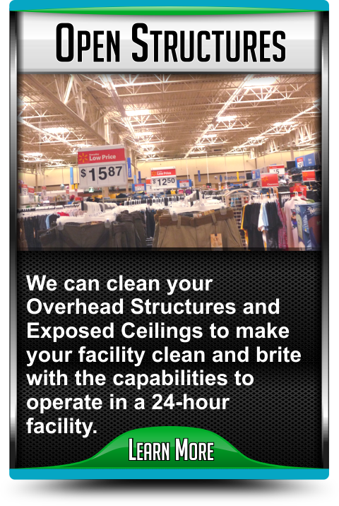 Open Structure Cleaning Services in Merriam Kansas