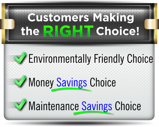 Customers making the right Choice by using our Grid Cleaning Services