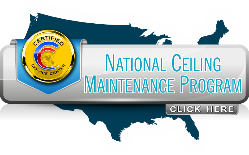 National Ceiling Maintenance Program for Managing Multi-Location Facility Standards and Pricing.
