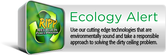 Ecology Alert - RIPP Program - Recycle-in-place-program for dirty acoustical ceilings